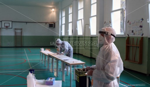Coronavirus Mormanno, primo giorno di test per gli studenti di medie ed elementari