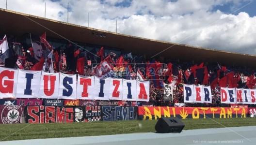 Monza-Cosenza nel segno di Denis Bergamini: sui social l'iniziativa dei tifosi