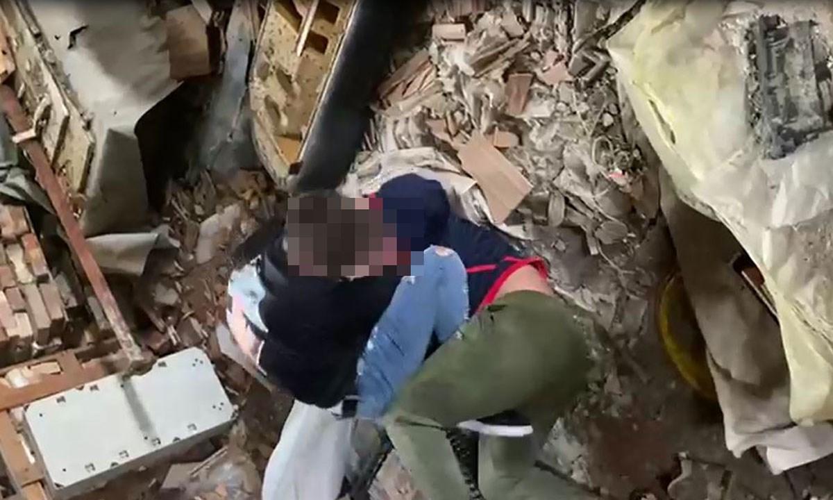 Un frame del video del pestaggio