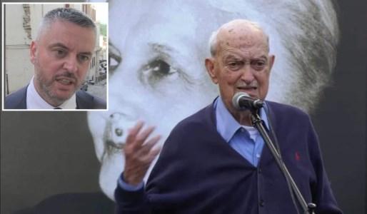 Morte Macaluso, Mancini: «Ci lascia un pezzo straordinario della storia della sinistra»