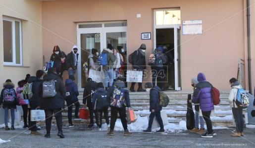 Mormanno: l'emozionante ritorno a scuola dopo due mesi di stop