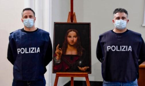 La Polizia ritrova il Salvator mundi
