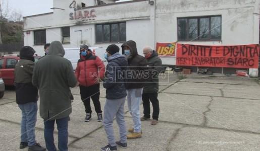 Cosenza, senza stipendio da mesi: sit-in di protesta dei lavoratori Siarc