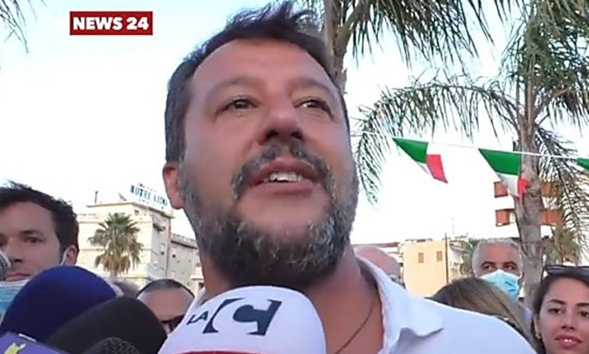 Matteo Salvini - foto d'archivio