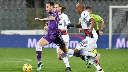 Serie A, Crotone manca il coraggio: a Firenze vincono i viola 2-1