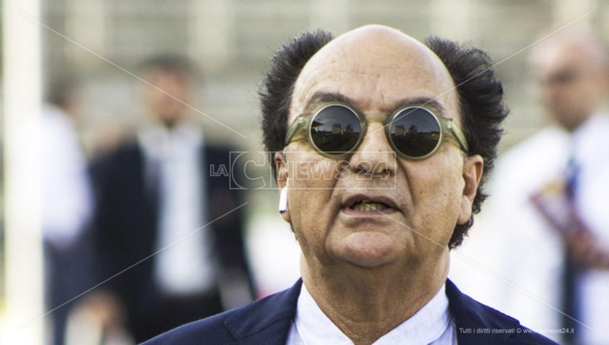 I presidente del Cosenza Eugenio Guarascio