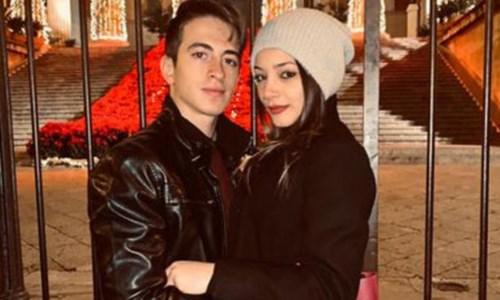 Pietro Morreale e Roberta Siragusa nella foto del profilo Facebook del giovane