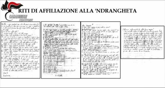 I riti di affiliazione nei racconti degli aspiranti 'ndranghetisti: «Come una messa ma solo di sabato»