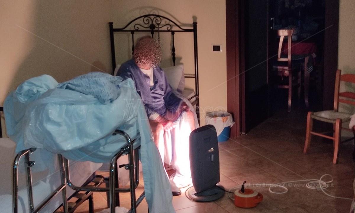L'anziano di Maierato che necessita di assistenza