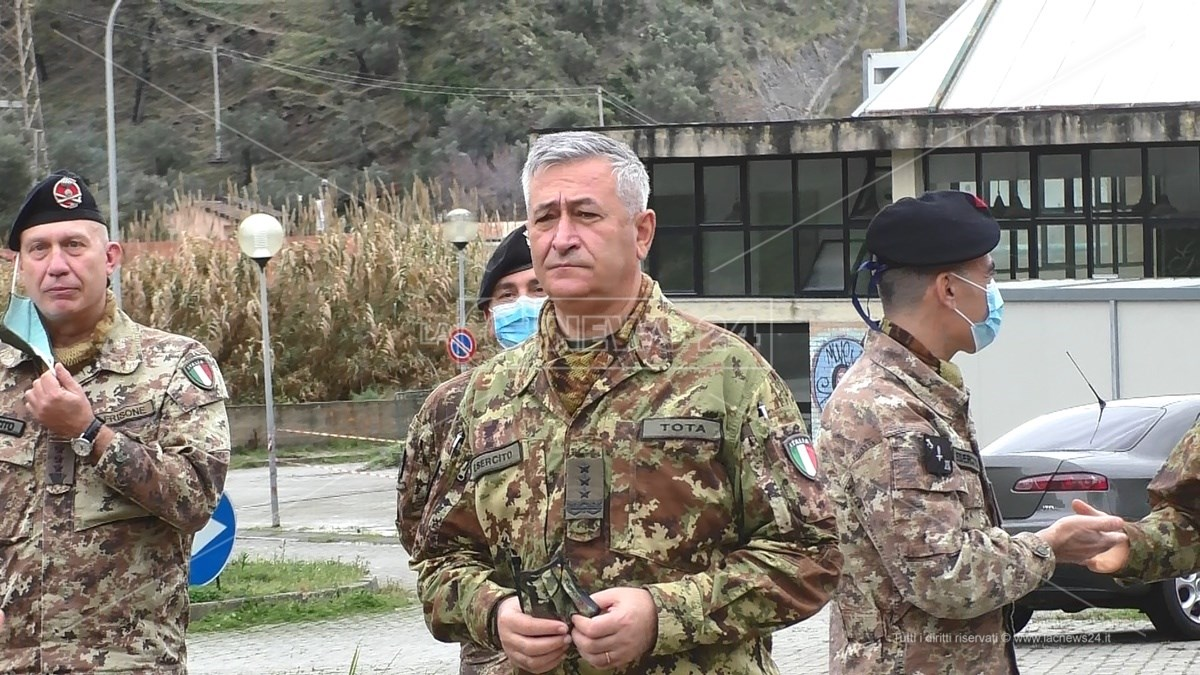 Il generale del corpo d'armata, Giuseppenicola Tota