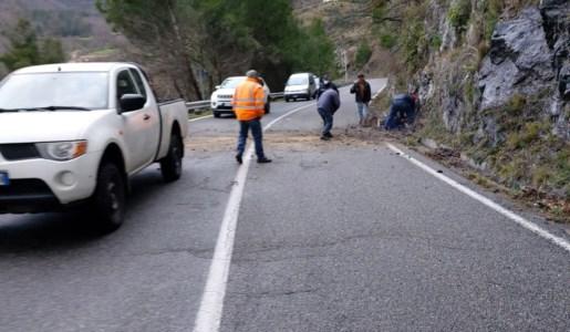 Morano Calabro, interventi di messa in sicurezza della provinciale dopo il maltempo