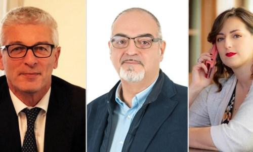 Nicola Morra, Massimo Misiti e Dalila Nesci
