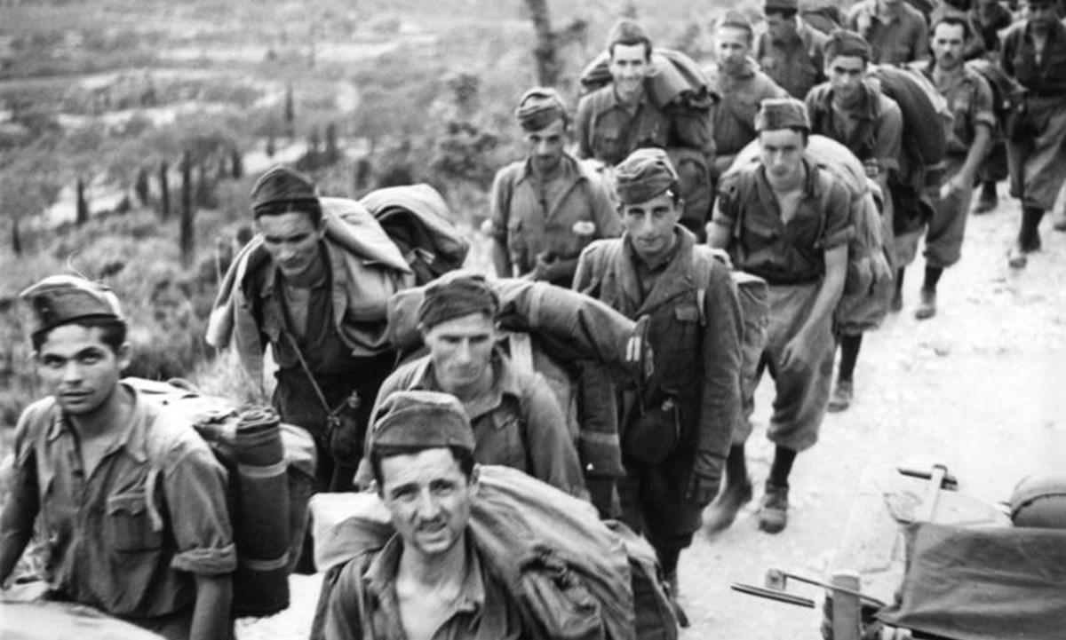 Soldati italiani durante la Seconda guerra mondiale (foto Wikipedia)