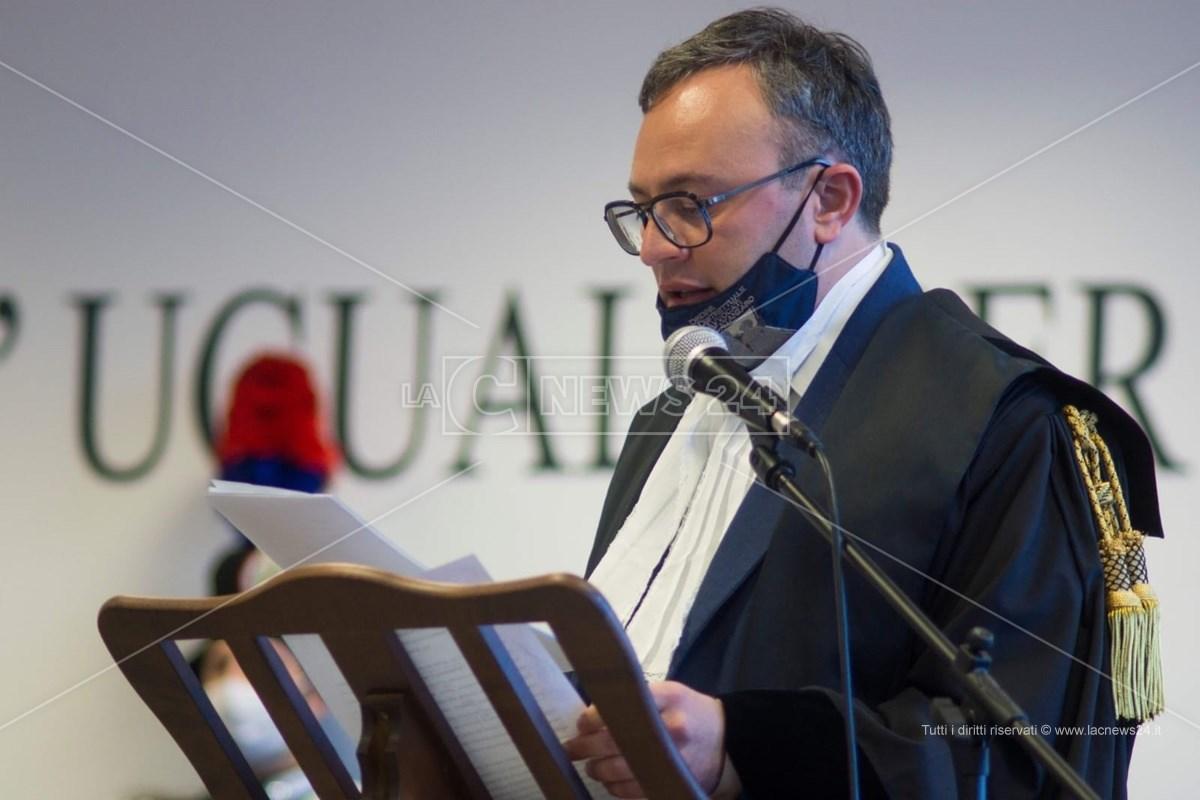Il presidente dell'ordine degli avvocati, Antonello Talerico