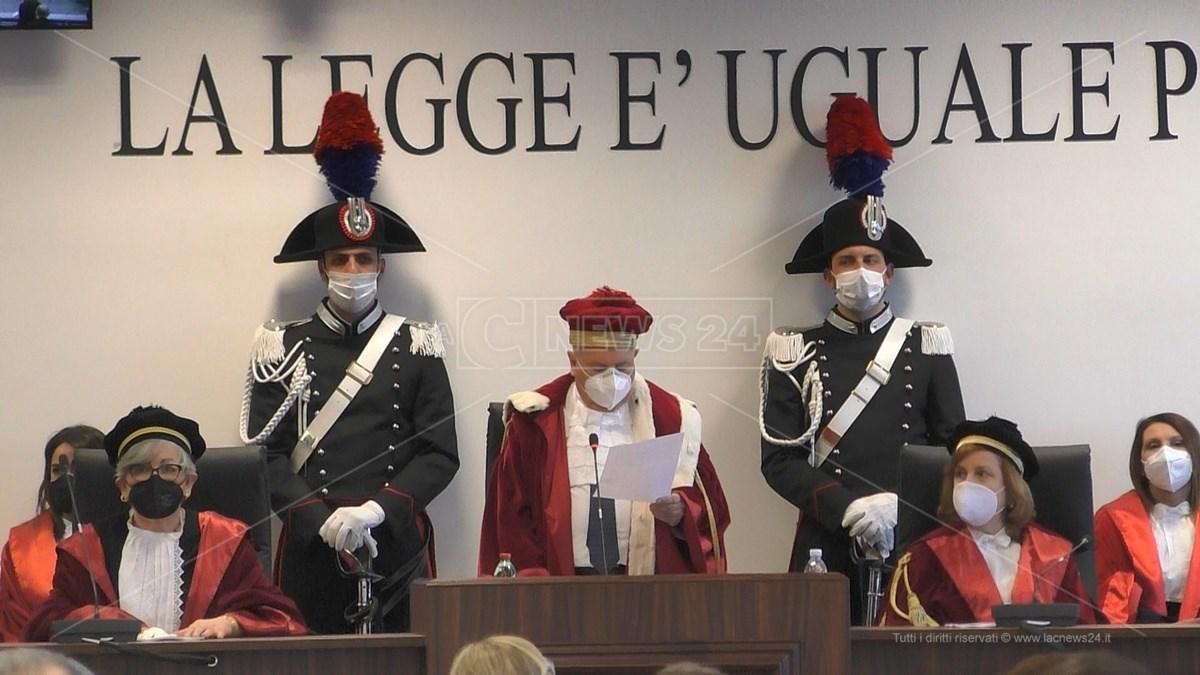 Il presidente della Corte d'Appello di Catanzaro, Domenico Introcaso