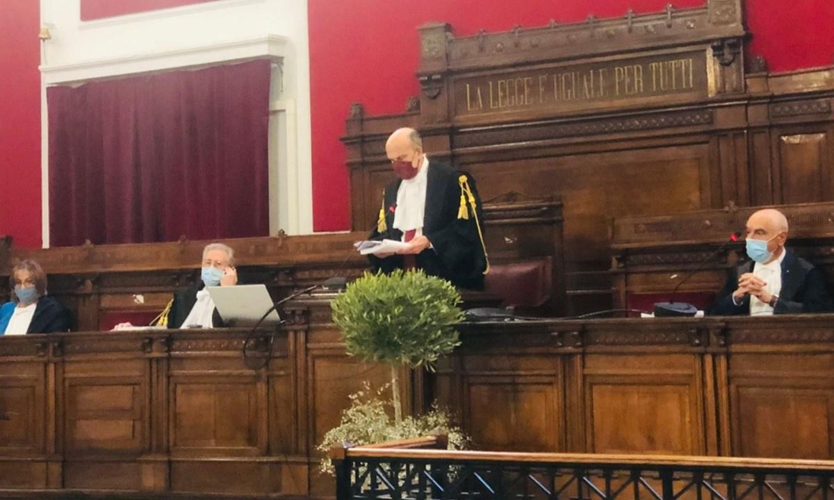 Il presidente della Corte d'Appello Luciano Gerardi