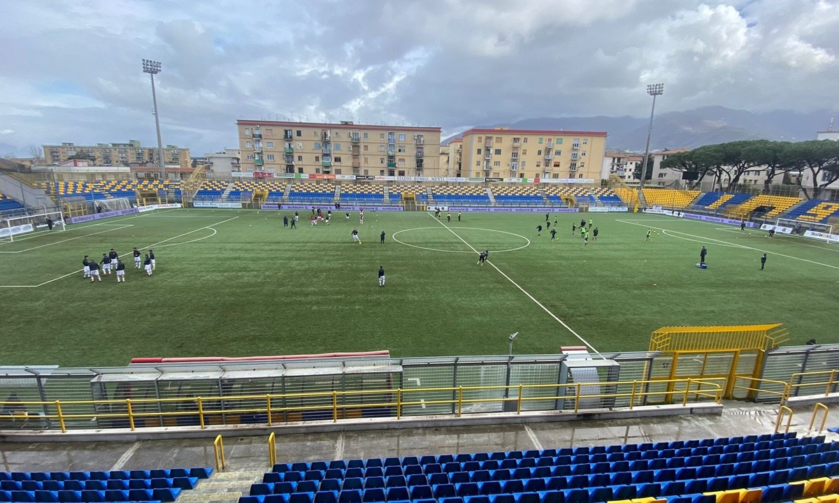 Lo stadio di Castellammare di Stabia
