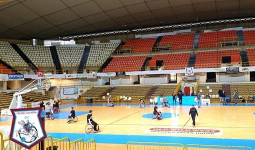 Reggio Basket in carrozzina ancora sconfitta al PalaCalafiore