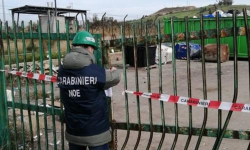 Sequestrato centro raccolta rifiuti nel Crotonese: amministratore denunciato