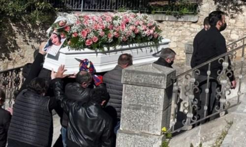 I funerali a Caccamo, foto ansa