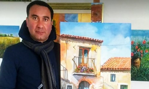 L'artista Enzo Liguori