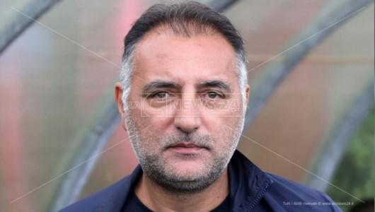 L'allenatore della Città di Acri Vincenzo Pacino