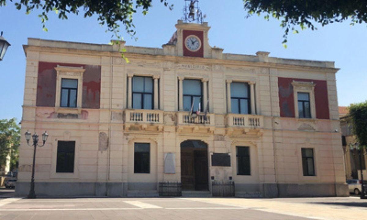 Il municipio di Campo Calabro