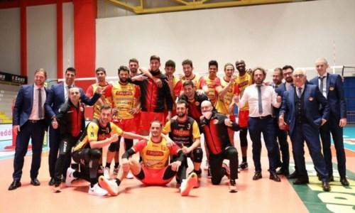 Superlega, la Tonno Callipo vince in rimonta sul Civitanova: 3-2 il finale