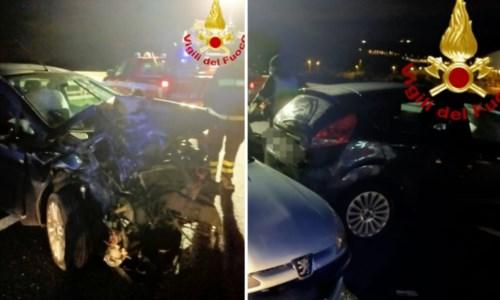 Incidente a Catanzaro nei pressi della Cittadella, coinvolte due auto