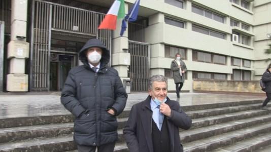 Saverio Cotticelli insieme al suo legale Domenico Ciruzzi