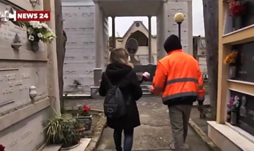 Tropea, nel cimitero degli orrori a controllare che altre tombe non siano state profanate