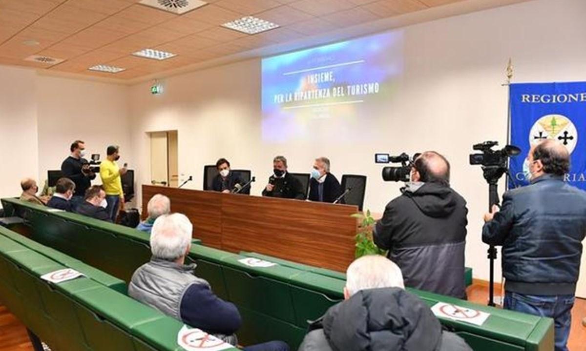 Un momento dell'incontro in Cittadella