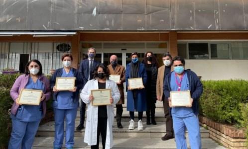 Premiazione, foto da pagina fb del consigliere regionale Di Natale