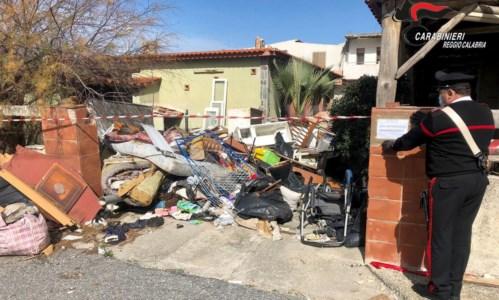 La discarica sequestrata a San Ferdinando