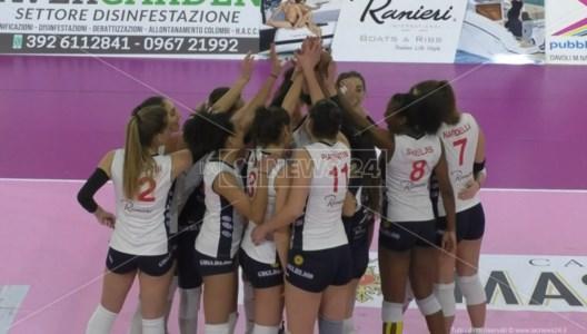Pallavolo femminile A2, Il Volley Soverato batte il Montecchio 3 a 0