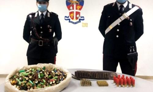 Seminara, rinvenute 650 munizioni di vario genere in un rudere abbandonato