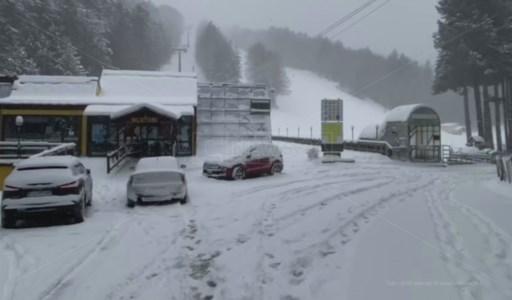 Maltempo, neve e gelo in Calabria nel primo giorno di primavera