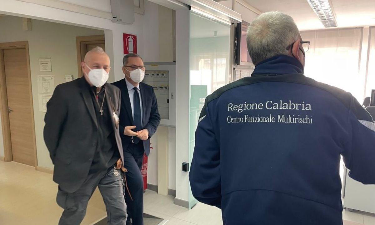 Sergio De Caprio in visita all'Arpacal