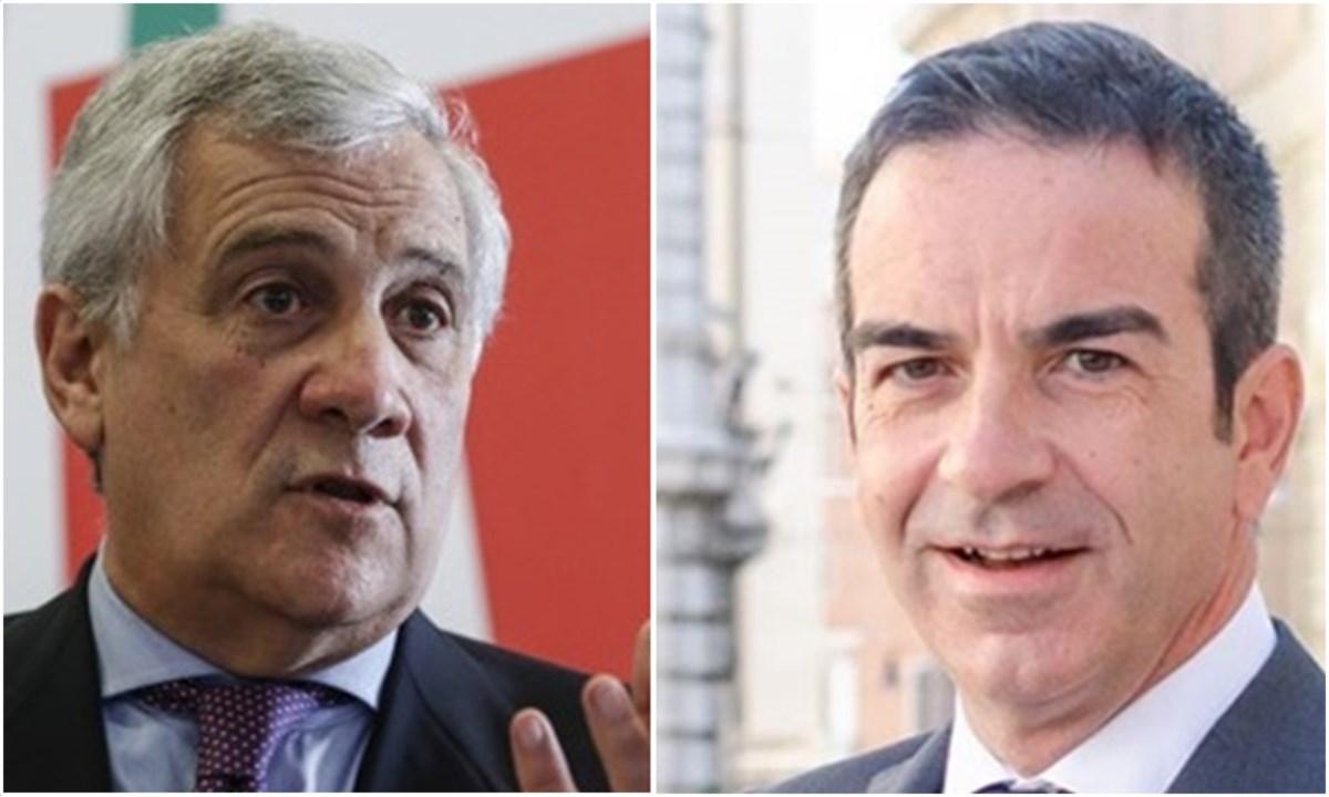 Antonio Tajani e Roberto Occhiuto