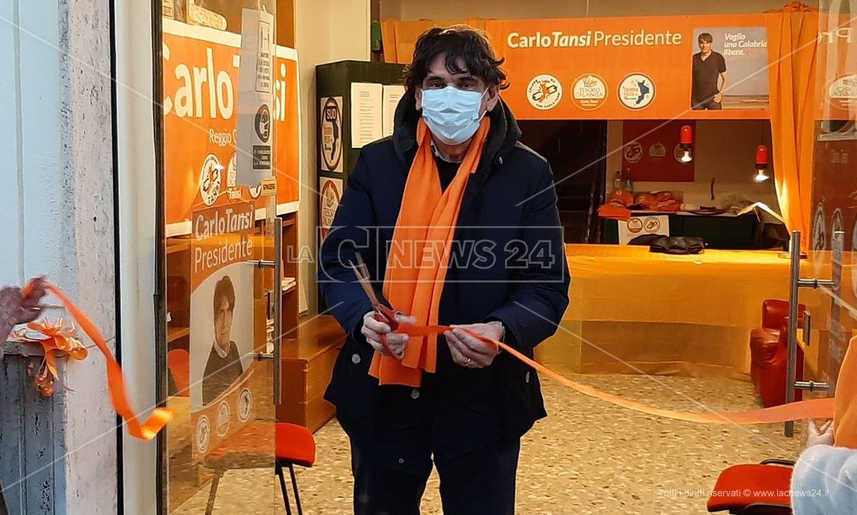 Carlo Tansi inaugura la sede a Reggio Calabria