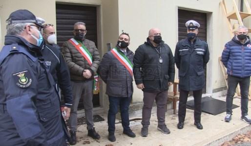 I sindaci di Acquappesa e Guardia Piemontese durante le operazioni di acquisizione del compendio termale