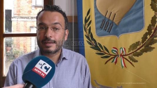 Il sindaco di Marcellinara Vittorio Scerbo