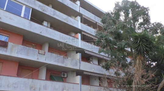 Il complesso residenziale dove abitano i Vincenzi