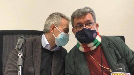 Gianluca Gallo e Nino Spirlì