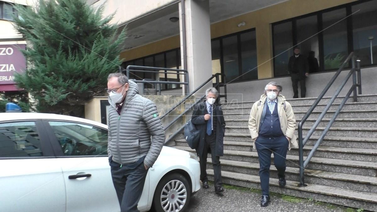 Il notaio Rocco Guglielmo, in sede di interrogatorio di garanzia