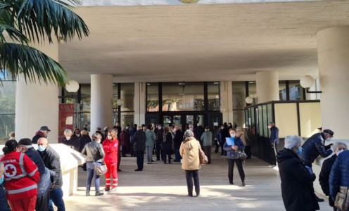 La sede del Consiglio regionale diventa centro vaccinale, partita la campagna