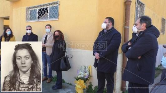 La cerimonia del Coordinamento Rossella Casini