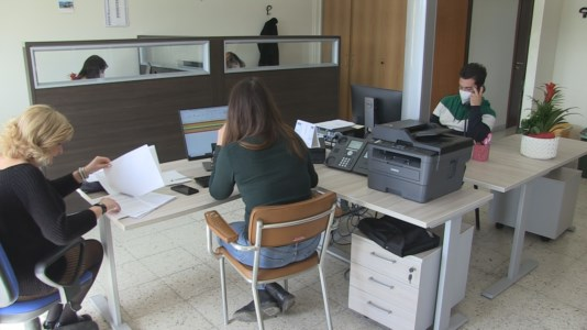 La sala della Centrale Operativa Territoriale