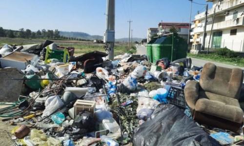 I rifiuti in località Trafinello