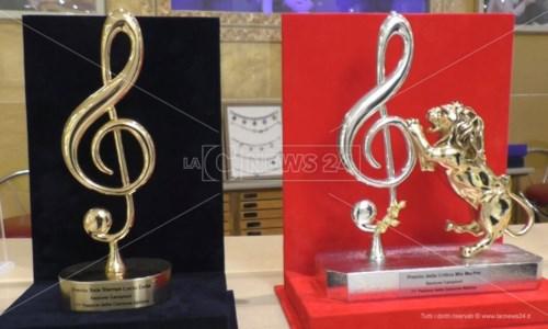 I premi realizzati da Michele Affidato per il Festival di Sanremo